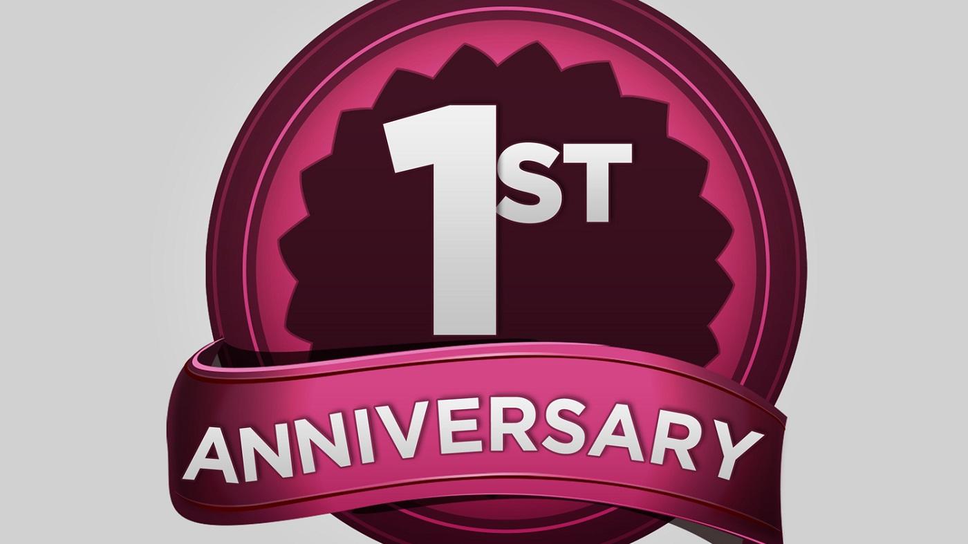 Happy Anniversary F O R W A R D!